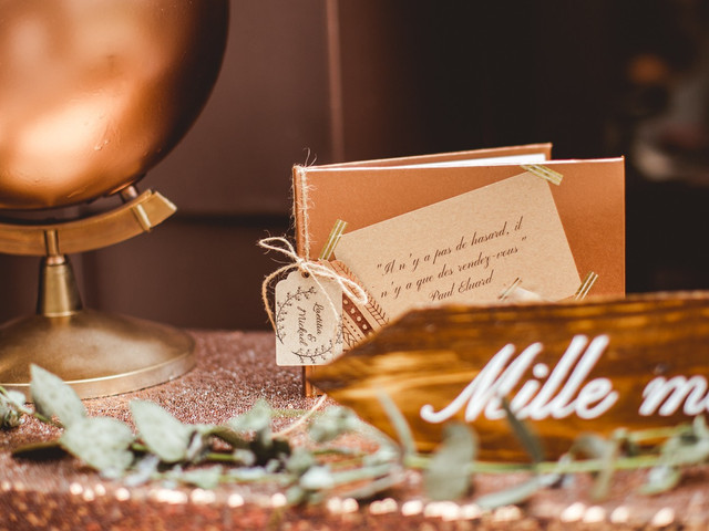La table du livre d'or : comment créer un beau décor ?