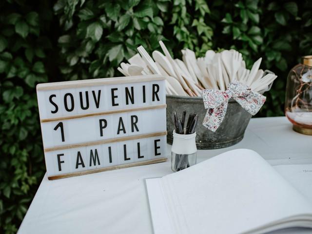 Cadeaux aux invités : un par personne, couple ou famille ?