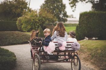 L'arrivée des enfants du mariage : 5 moyens de transport originaux