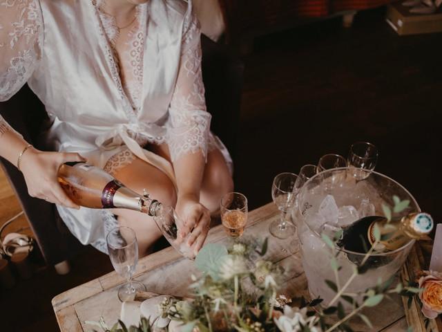 20 peignoirs de mariée à porter pendant les préparatifs