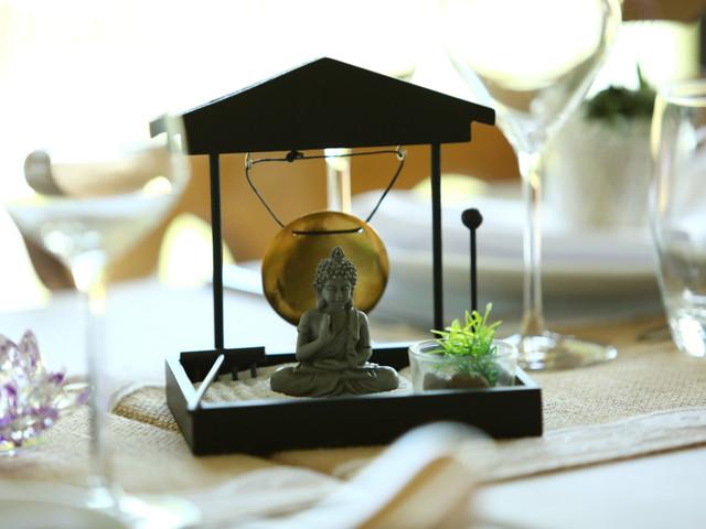 5 idées décoration pour un mariage zen