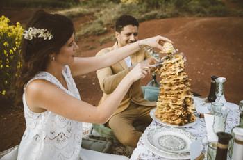 Gâteau à la broche : nouvelle pièce montée des mariages ?