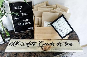 Kit anti-gueule de bois à offrir à vos invités