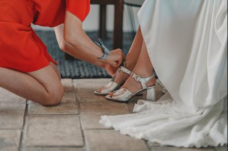 30 paires de chaussures de mariée à talons carrés : beauté et stabilité!