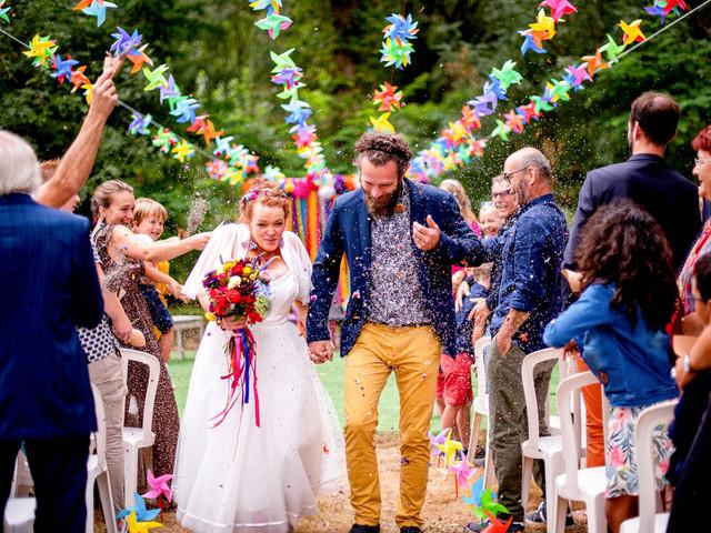 5 sorties de cérémonie originales : les mariés en folie !