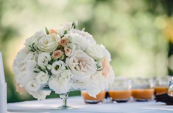 Quels centres de table lorsqu'on se marie l'été?