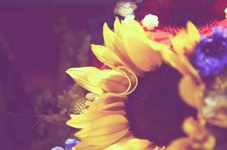 Tournesol : déco de mariage autour d'une fleur symbole de soleil et d'amour