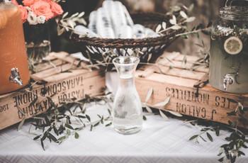 Vivre d'amour et d'eau fraîche : vos invités hydratés tout au long du jour J !