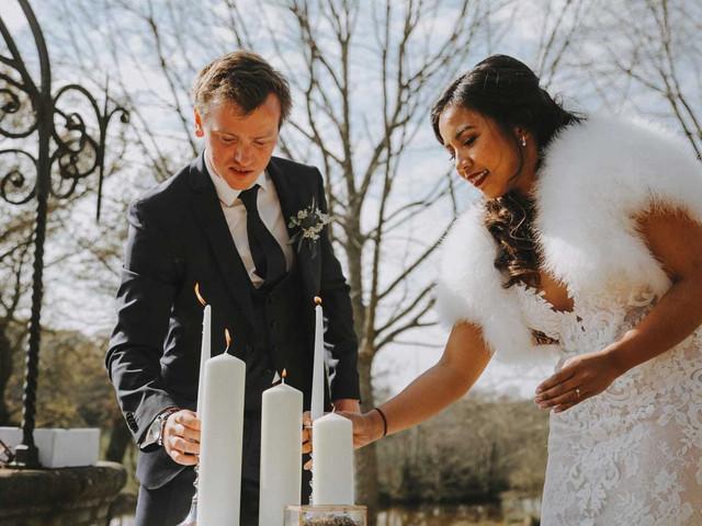 5 idées pour un mariage en hiver animé