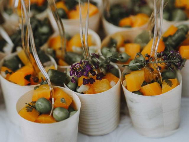 5 idées de menus pour un repas de mariage exotique
