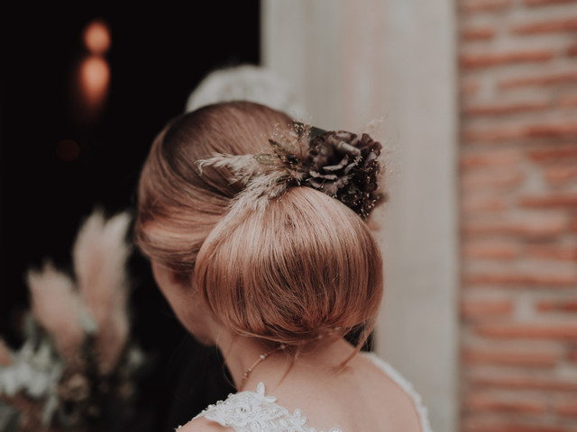 Les 50 plus beaux chignons de mariée de l'année