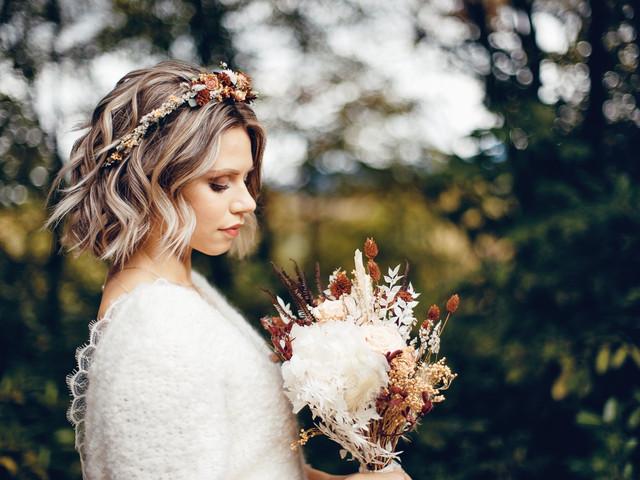 Coiffure bob pour mariée : une tendance qui en cache plusieurs...