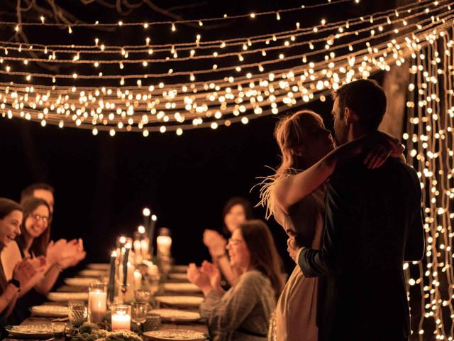 Soirée de mariage en extérieur : 5 points à préparer