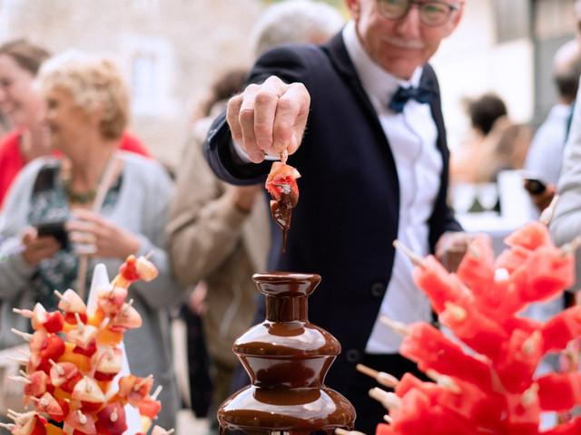 Une fontaine de chocolat pour faire fondre de plaisir vos convives