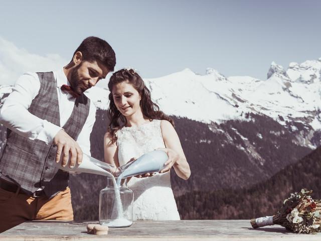 6 inspirations pour un mariage à la montagne