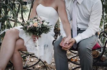 35 robes de mariée courtes pour un look estival sublime !
