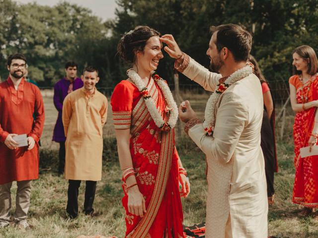 La mariée en sari : une tenue magique selon les légendes et traditions