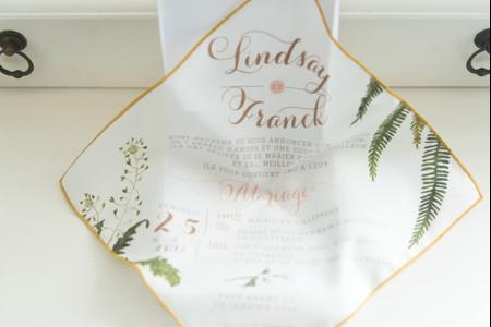 Faire-part en tissu : une invitation originale et durable !