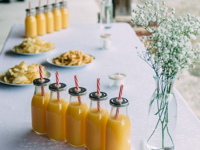 Des jus de fruits et légumes pour prendre des forces avant le jour J
