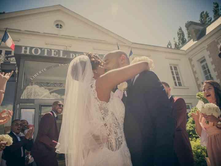 Un voile de mariée avec des cheveux courts, c'est possible!