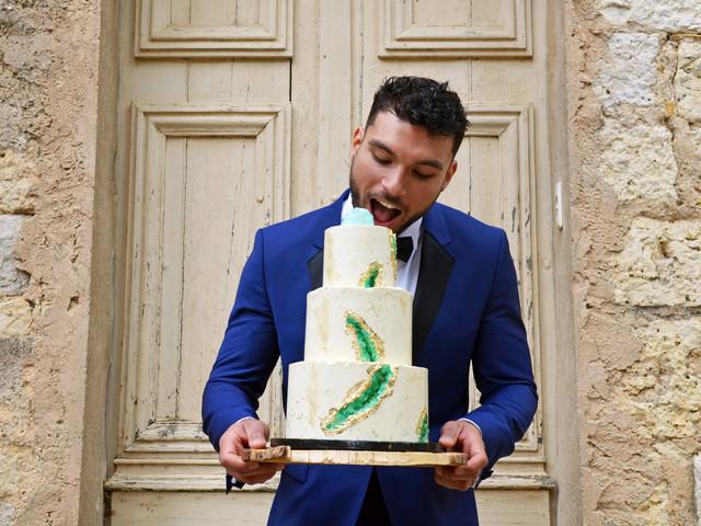 Geode cake pour mariage : le plus spectaculaire de tous les gâteaux