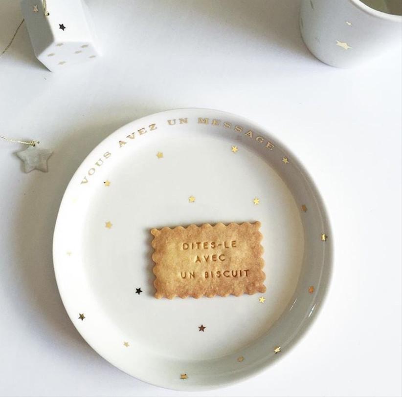 Biscuits vous avez un message