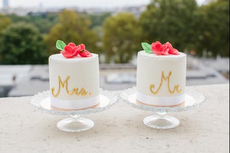 Mini cake : la nouvelle tendance wedding cake toute mimi