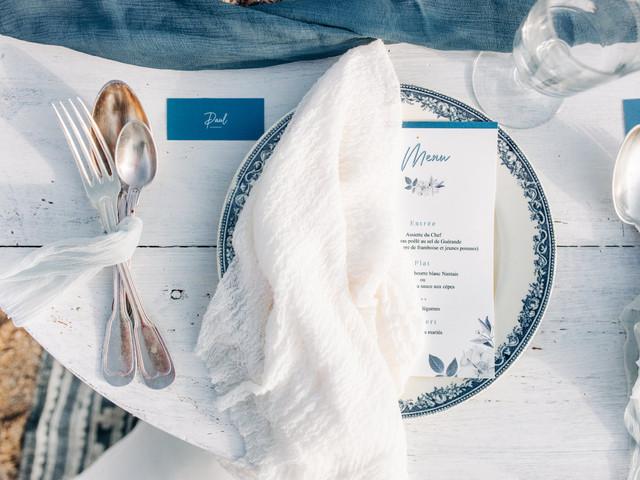 Quelle forme de table choisir pour votre repas de mariage ?