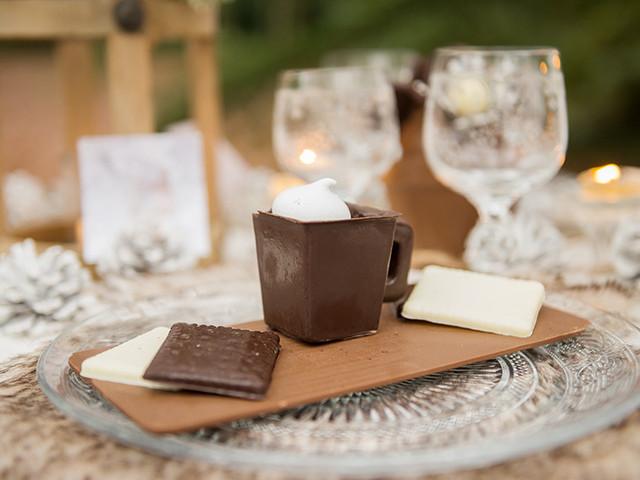 10 idées de desserts de mariage au chocolat
