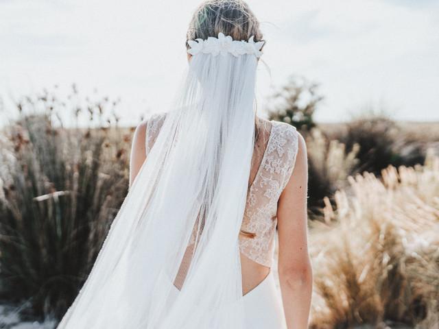 Voile + accessoire : le parfait look de mariée