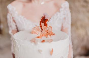 20 wedding cake en harmonie avec votre noce d'hiver