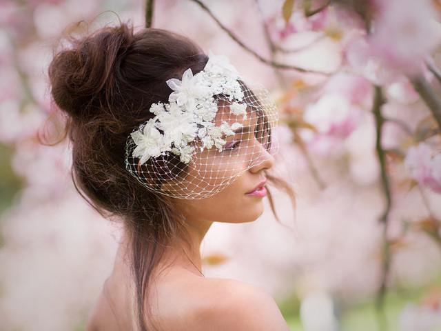 La voilette de mariée dans tous ses états: rockabilly, glamour ou romantique !
