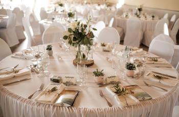6 astuces déco pour vos tables de mariage rondes