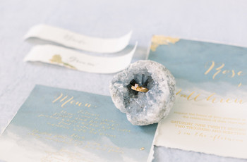 Décoration géode : un thème de mariage précieux