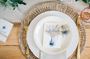Dessous d'assiette pour mariage : 5 accessoires de table du plus chic au plus ludique