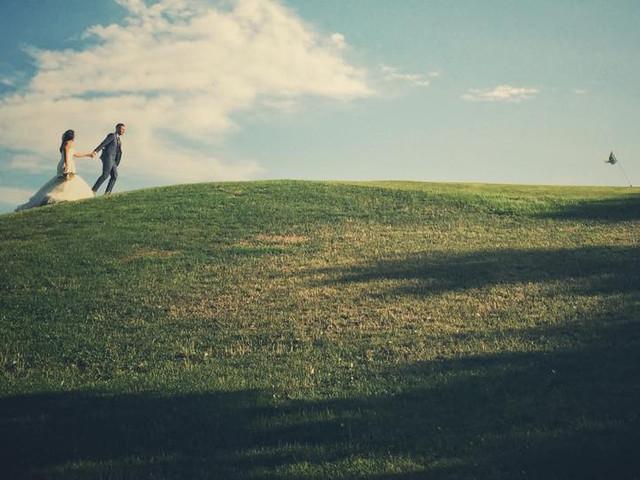 Un terrain de golf pour la célébration de votre mariage