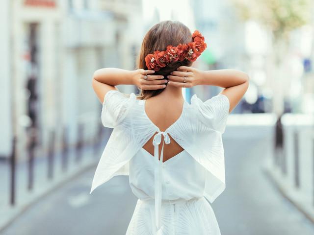 5 accessoires pour coiffure de mariée sur le côté