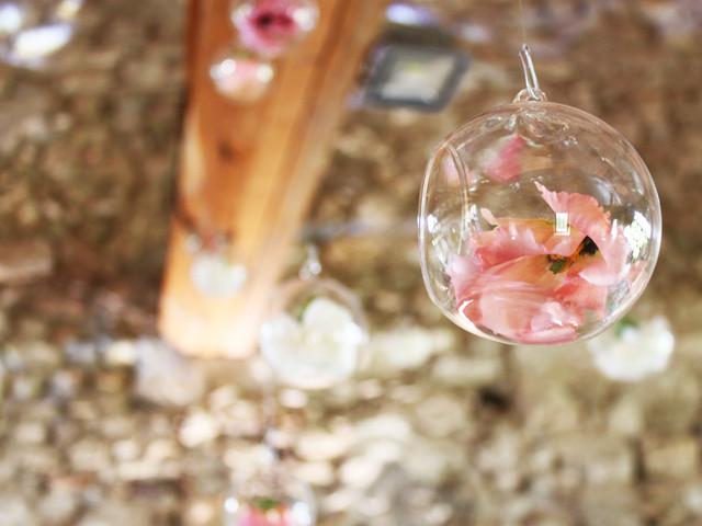Décoration de mariage aux milles bulles pour plus de féérie