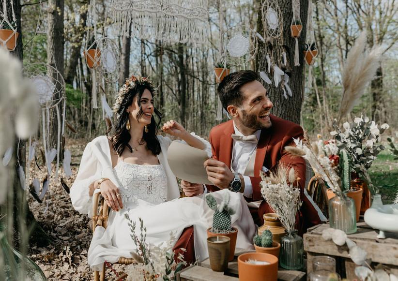 costume mariage terracotta