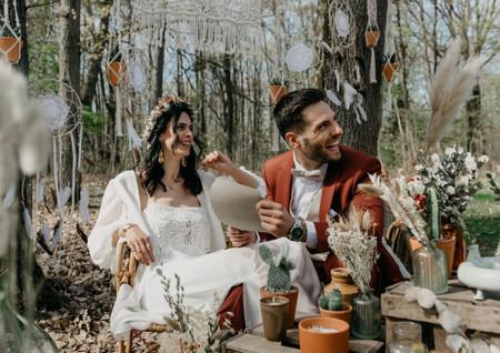Crème, chocolat, Terracotta... les alternatives au costume de mariage bleu que vous voudrez porter à votre mariage