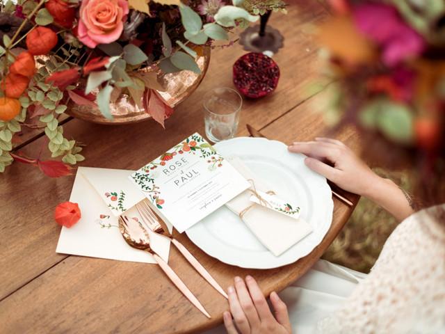20 centres de table de mariage pour la saison d'automne