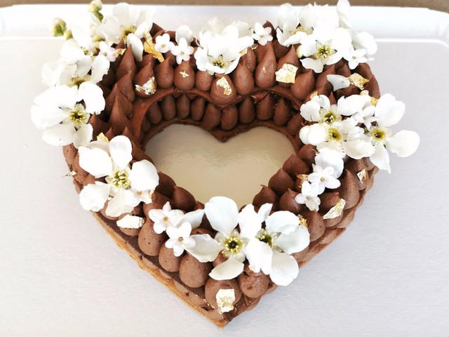 3 versions pour mariage du number cake