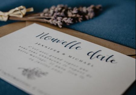 Change-the-date : communiquer votre nouvelle date de mariage