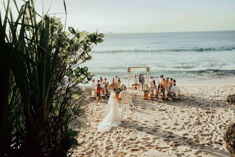 Horizon Wedding by Cathleen