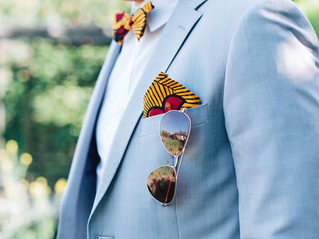 Futur marié, on vous dit tout sur la pochette de costume !