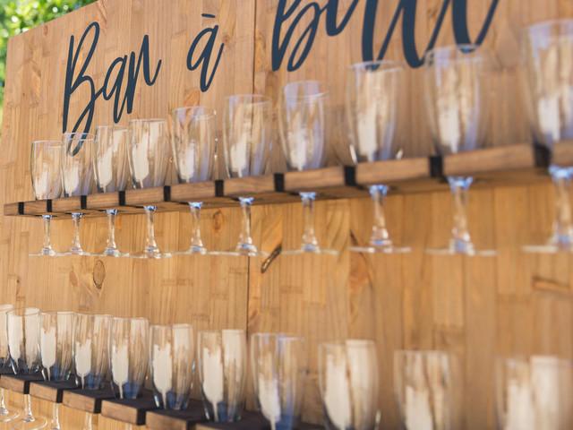 Bar à bulles : faites pétiller votre vin d'honneur !