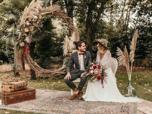 Herbe de la pampa : 7 façons de l'intégrer au décor de votre mariage