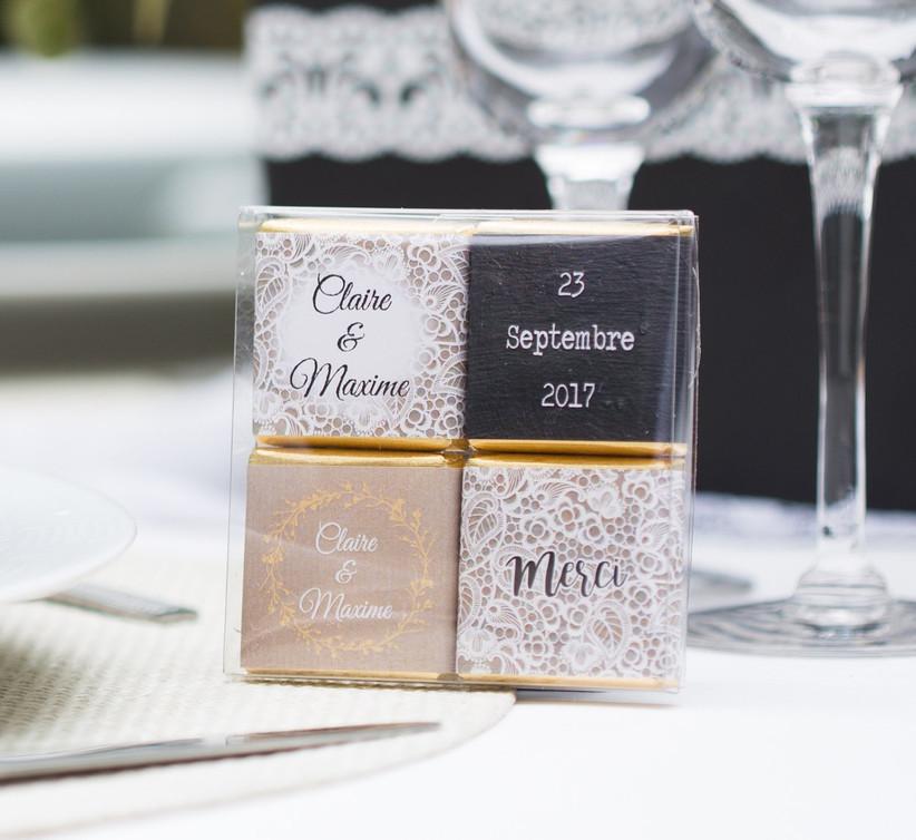 Wedding chocolate