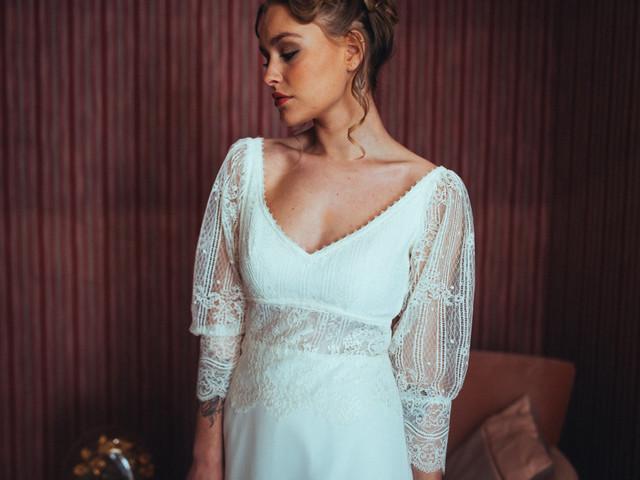 8 créatrices de robes de mariée écolo à découvrir au plus vite !