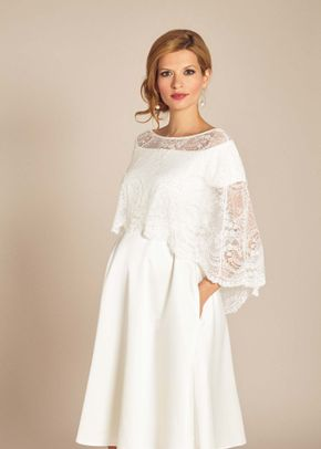 Georgia / Lace Capelet, Tiffany Rose